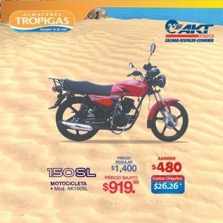MOTOCICLETA SL 150 cc barata el tropigas el salvador 2021