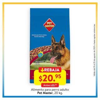 comida para perros en ofertas walmart 20 agosto 2021