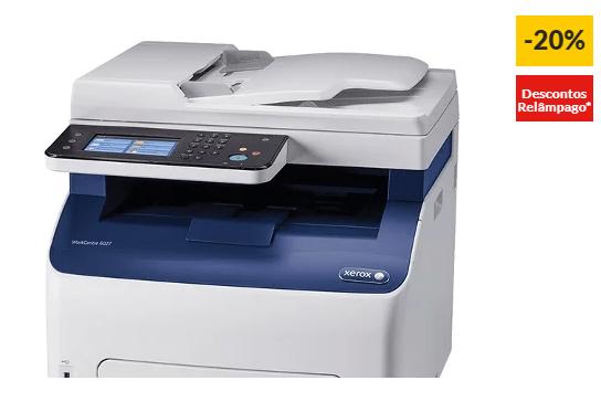 Impressora Multifunções XEROX WorkCentre 6027