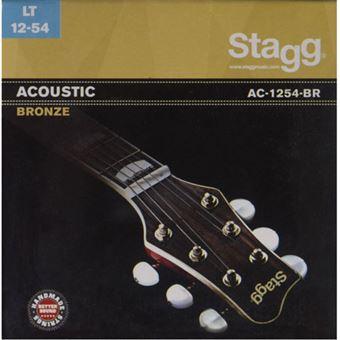 Cordas Guitarra Acústica Stagg