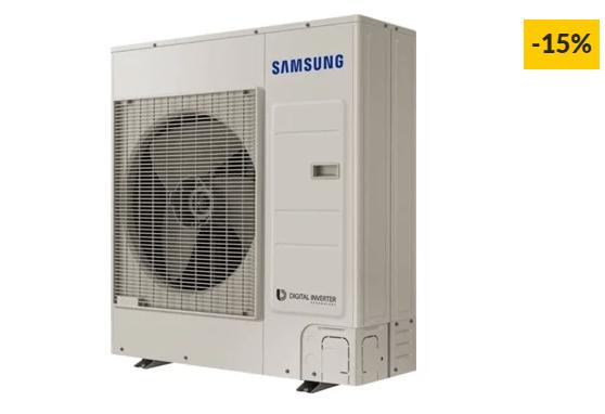 Ar Condicionado SAMSUNG AJ100MCJ5EH (60 m² – 30000 BTU – Branco)