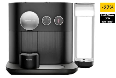 Máquina de Café NESPRESSO Krups Expert XN6008P1 (19 bar – Preto)