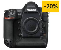 Máquina Fotográfica Reflex NIKON D5 XQD (21.33 MP – Sensor: FX – ISO: 100 a 102400)