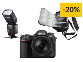 Kit Máquina Fotográfica Reflex NIKON D500 + AF-S DX NIKKOR 16-80mm f/2.8-4E ED VR