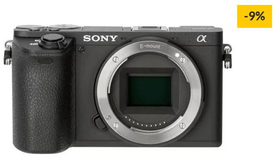 Máquina Fotográfica Mirrorless SONY A6500B (24.2 MP – Sensor: APS-C – ISO: 100 a 51200)