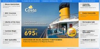 Vacaciones-cruceros por el mediterraneo