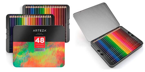 Estuche Arteza de 48 lápices de colores baratos en Amazon