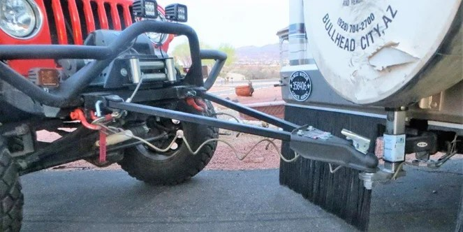 Flat Tow Bar Installation For Jeep Wrangler Off Road Com