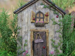 My Fairy Gardens Mini – Ladybug Fairy Door – Supplies Accessories