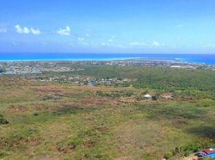 St. Croix, USVI. Wonderful location and with views to the ocean and Frederiksted