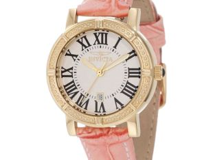 Invicta Women's Wildflower 13968 Interchangable Leather Band Watch