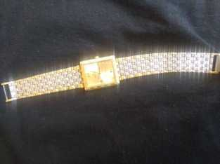 2 tone gold lucien piccard watch