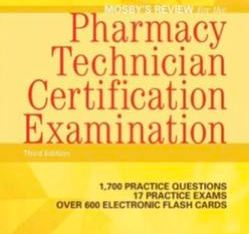 Mosby's Pharmacy Tech C. Examination Ebook INSTANT DOWNLOAD