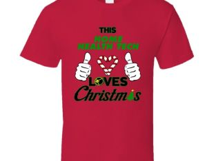 This Home Health Tech Loves Christmas Cool Holiday Job Gift T Shirt