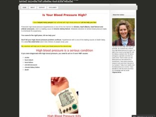High Blood Pressure – Natural Solutions For Lowering Your Blood Pressure