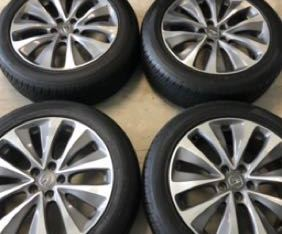 4 ORIGINAL FACTORY ACURA MDX 19″ RIMS and TIRE