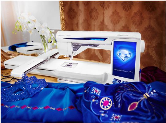 HUSKVARNA Diamond Designer Royale Embroidery and Sewing Machine for SALE!!