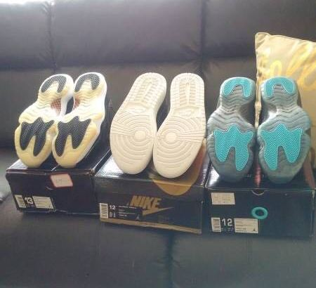 Four (4) Pair for price of 1! New Air Jordan's + Nike Zoom