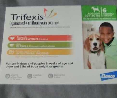 Trifexis (20-40lbs)