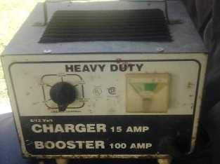 Heavy Duty Charger/Booster