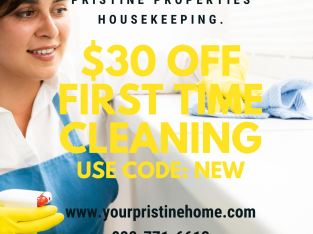 $30 off house cleaning services