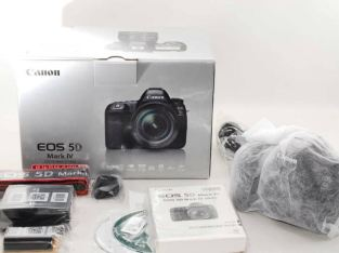 New authentic Canon EOS 5D Mark IV