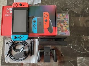 Nintendo Switch 32GB Neon Red and Neon Blue Joy Con Console