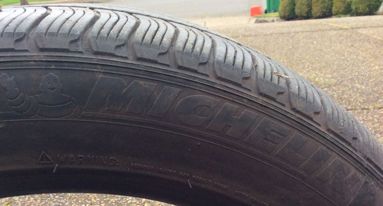Like New Tires – Michelin 275/45 R19
