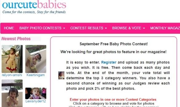 International Baby Photo Contest