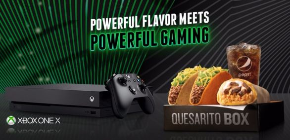 Taco Bell Xbox
