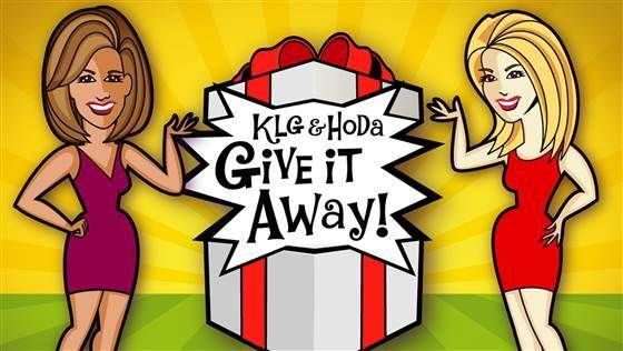 KLG and Hoda Give It Away Sweepstakes 2018