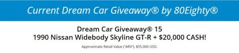 80eighty Dream Car Giveaway