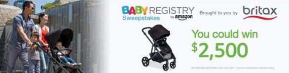 Baby Registry Britax Sweepstakes