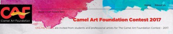 Camel Art Foundation Contest 2017