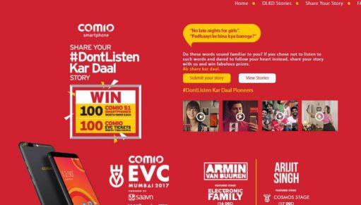 Dont Listen Kar Daal Contest
