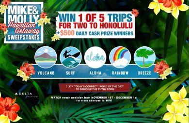 Hawaiian Getaway Sweepstakes