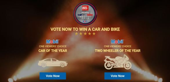 NDTV CarandBike Awards 2018