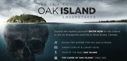Oak Island Sweepstakes
