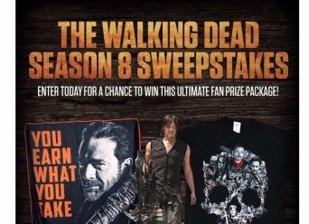 Walking Dead Season 8 Sweepstakes