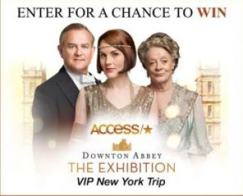 Access Holiday Downton Abbey Sweepstakes