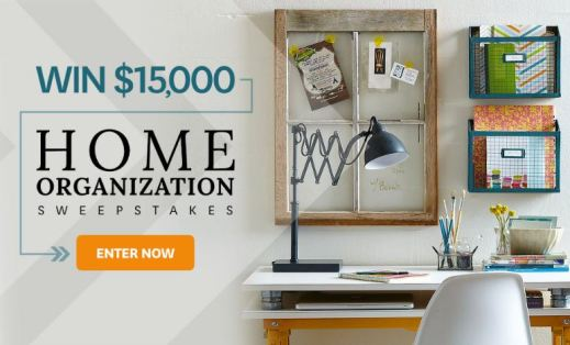BHG $15000 Home Organization Sweepstakes - Win $15000 Cash - Offers