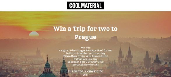 Cool Material Sweepstakes