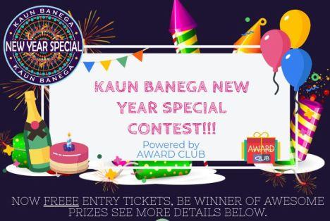 Kaun Banega New Year Special Contest