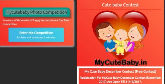 Mycutebaby Photo Competition