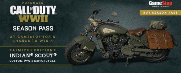 World War II Indian Motorcycle