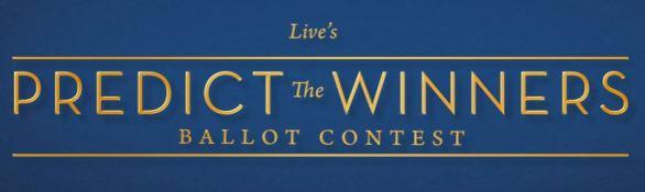 Live's Predict the Winners Ballot Contest