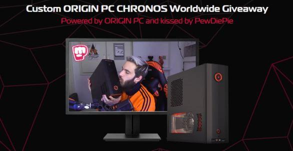 Origin PC PewDiePie Giveaway