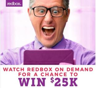 Redbox Watch and Win $25K Sweepstakes
