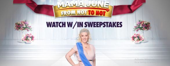 WE TV Mama June Watch Within Sweepstakes