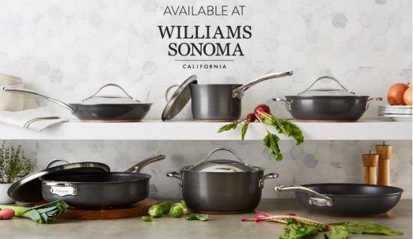 Anolon Gourmet Cookware Williams Sonoma Sweepstakes